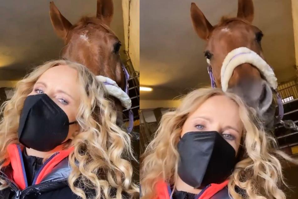 Katja Burkard und Pferde? Sie beichtet ihr Reit-Geheimnis!