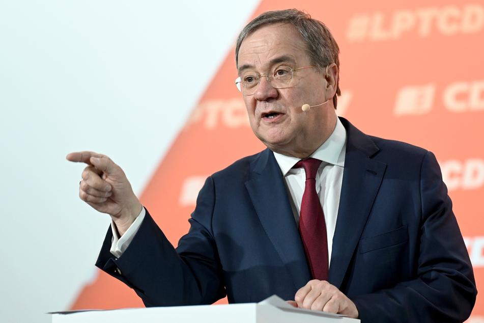 Am Montagabend kommt der Landesvorstand um CDU-Chef und Ministerpräsident Armin Laschet (60) zu einer digitalen Sitzung zusammen. (Symbolfoto)