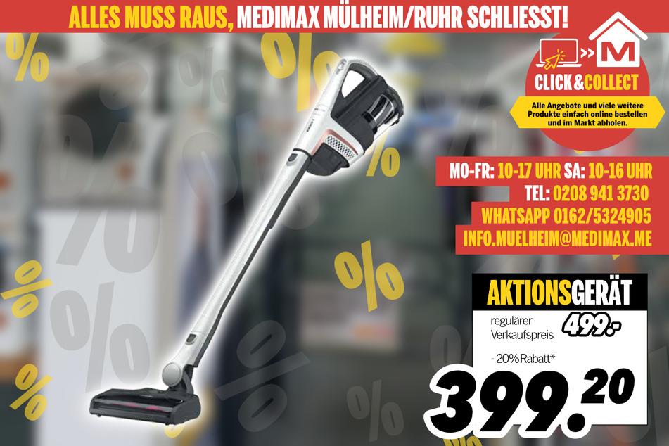 Stielsauger von Miele für 399,20 Euro