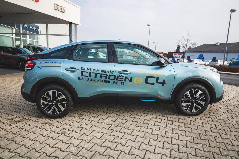 Autohaus in Zwickau verschenkt einen Citroen