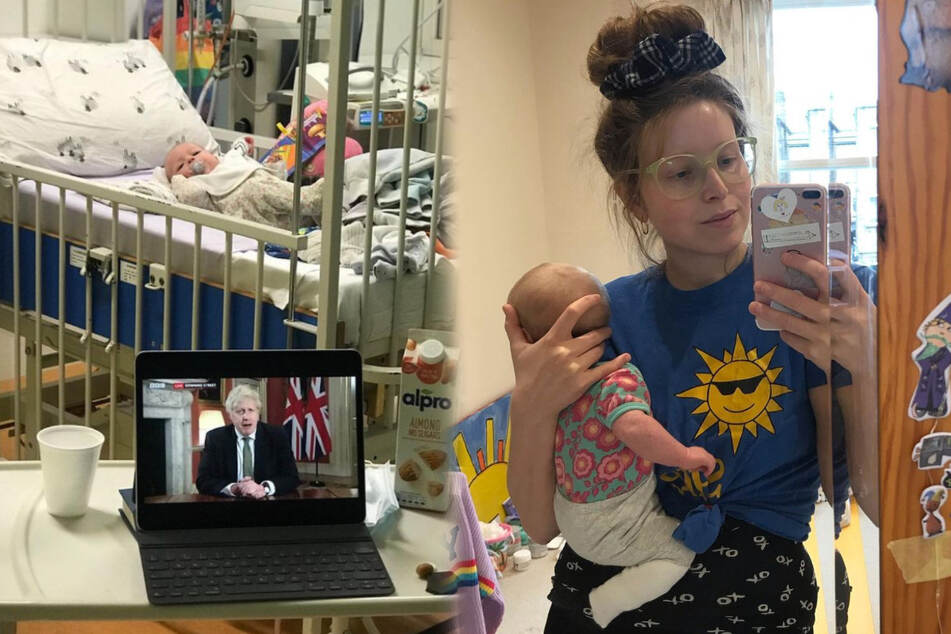 Harry Potter actor Jessie Cave reveals her baby has Covid-19