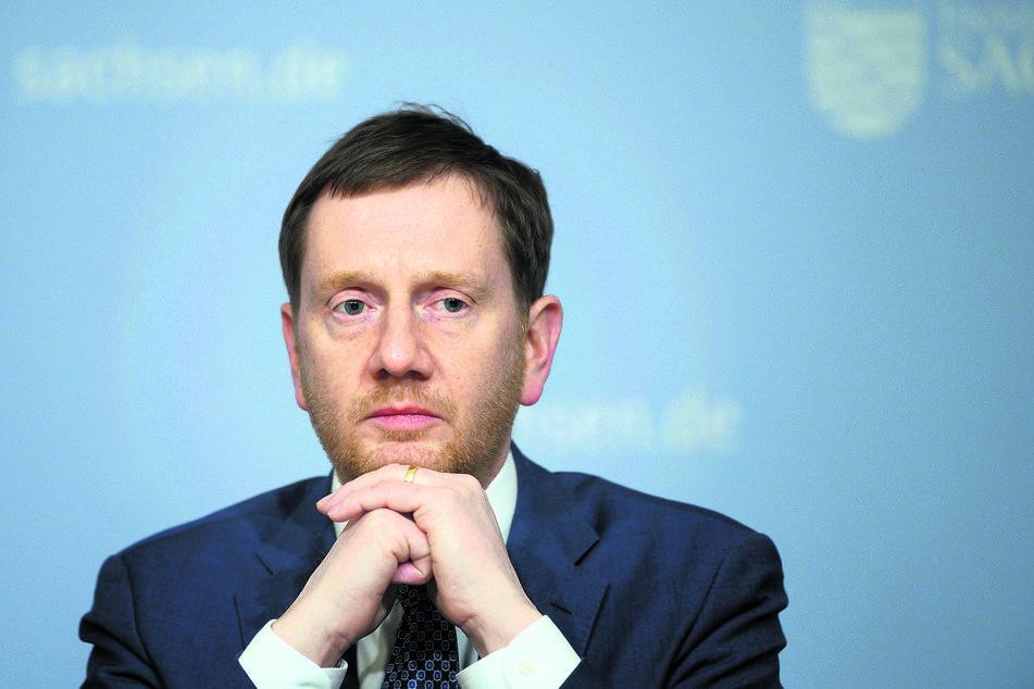 In der Corona-Pandemie ist in Sachsen bisher nicht alles optimal gelaufen, aber vieles gut. TAG24 vergibt als Gesamtnote eine 3. Ministerpräsident Michael Kretschmer (45, CDU) hat also allen Grund zu vorsichtigem Optimismus.