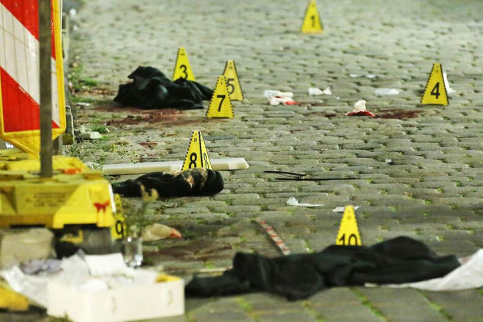 Viele Spuren am Tatort deuten auf ein Tötungsdelikt hin.