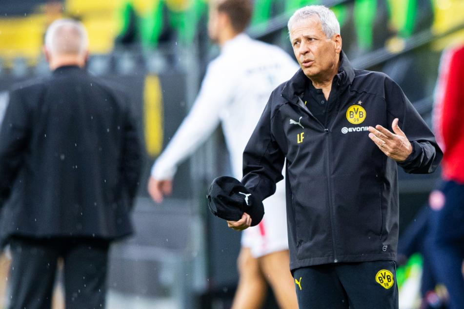 Lucien Favre (62) bleibt offenbar Trainer von Borussia Dortmund.