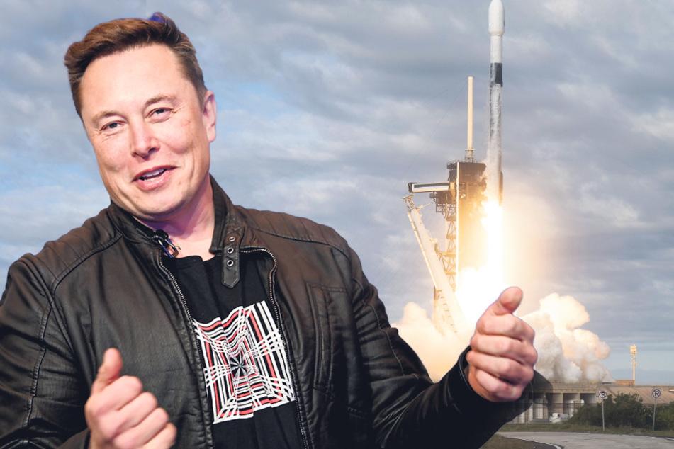 Tesla-Chef Elon Musk jagt Dresdner Satelliten ins All