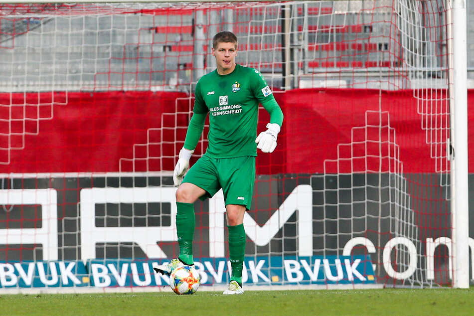 CFC-Keeper Jakub Jakubov geht mit in die Regionalliga.