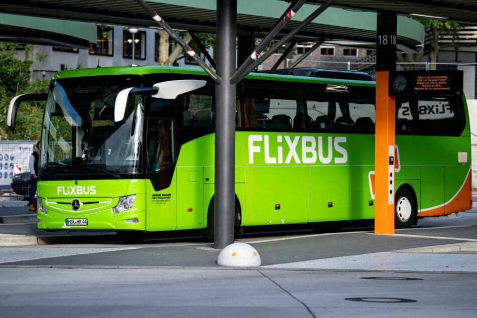 Ein Flixbus steht im Zentralen Omnibusbahnhof in Berlin. Im November wird der Reiseanbieter seinen Betrieb komplett aussetzen.