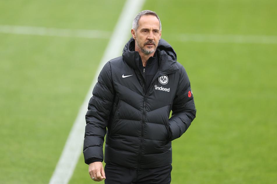 Adi Hütter (51) wird Eintracht Frankfurt am Saisonende in Richtung Borussia Mönchengladbach verlassen.