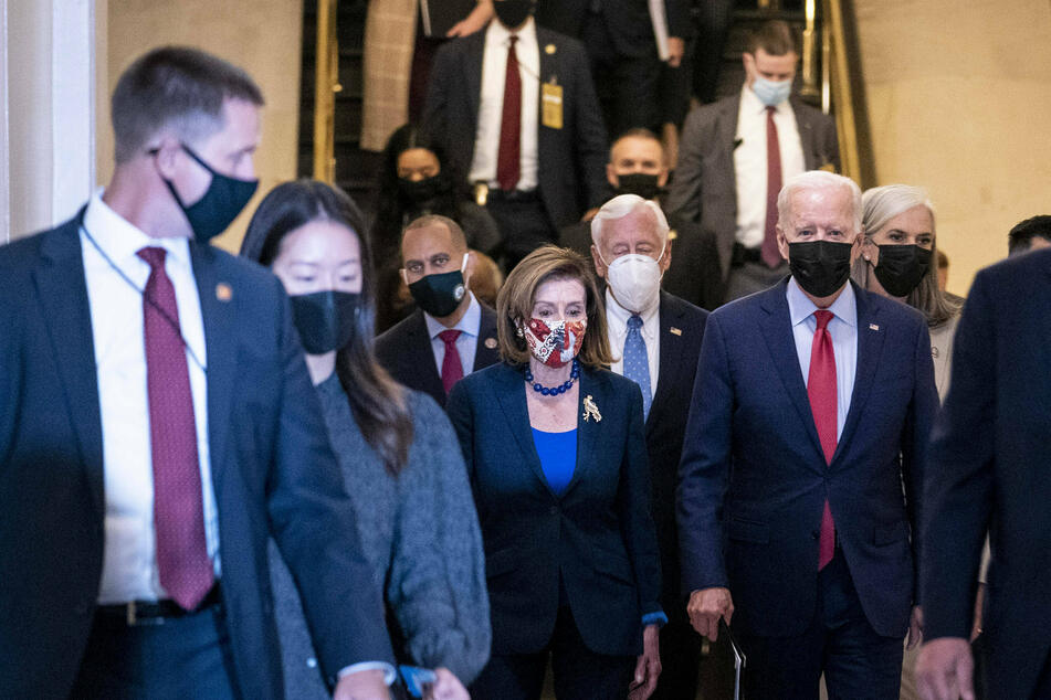 Democrats contend with how to scale down Biden's social safety net to satisfy centrist minority