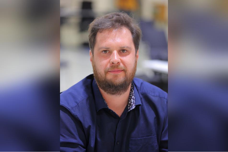 Stadtrat Vincent Drews (SPD, 33)