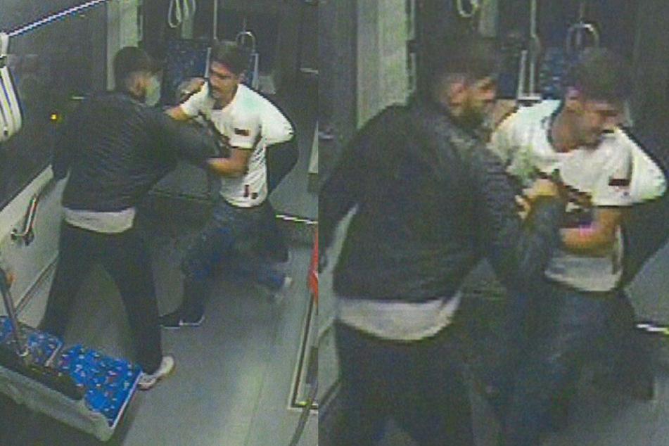 Straßenbahn-Fahrer krankenhausreif geprügelt: Wer erkennt diese Männer?