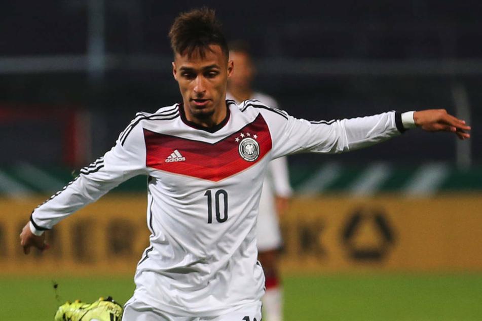 Hany Mukhtar wurde 2014 mit der deutschen U19-Nationalmannschaft Europameister und steuerte den Siegtreffer im Finale bei. (Archivfoto)