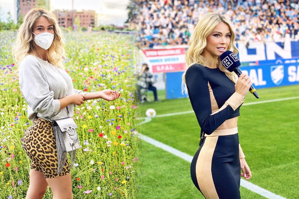 Sexy Fußball-Kommentatorin hat auf Instagram mehr Fans als die meisten Spieler