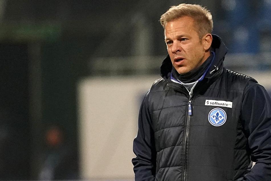 Das Foto aus dem November zeigt Markus Anfang (46), den Chef-Trainer des SV Darmstadt 98.