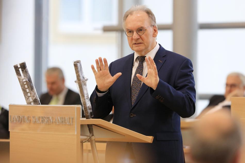 Sachsen-Anhalts Ministerpräsident Reiner Haseloff (66, CDU)