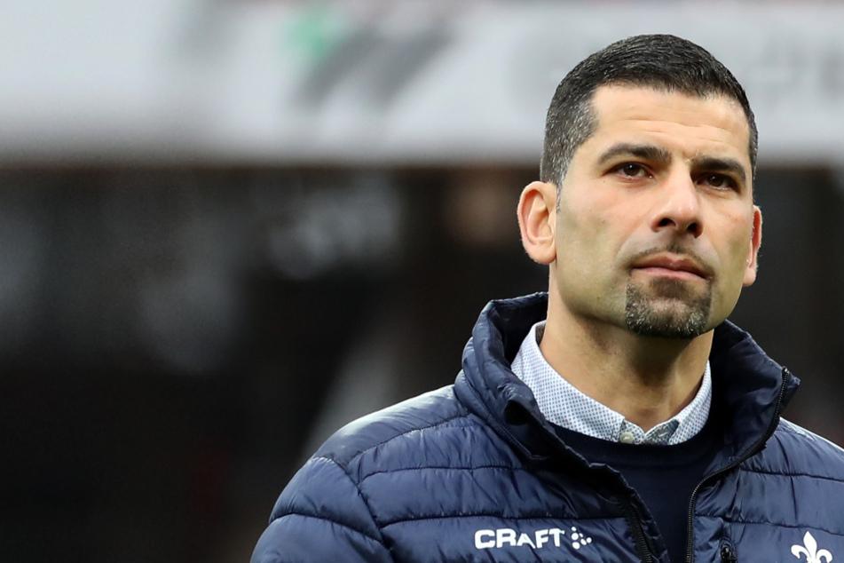 Zum Saisonende wird Dimitrios Grammozis den SV Darmsatdt 98 verlassen (Archivbild).
