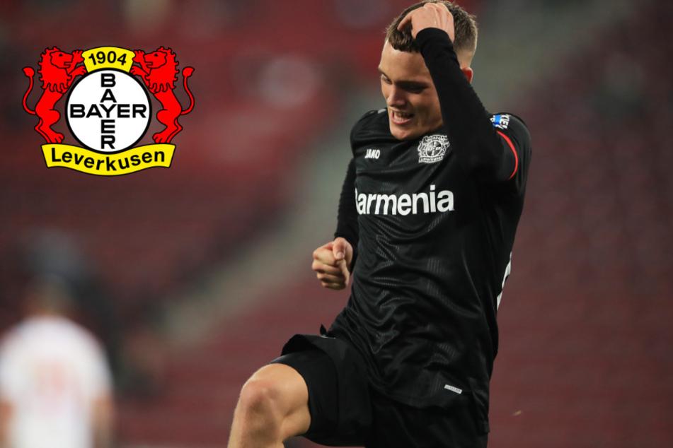 Bayer Leverkusen verlängert Vertrag von Supertalent Florian Wirtz