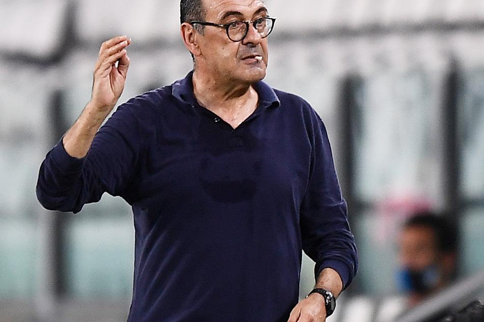 Maurizio Sarri (62) leitet in der kommenden Saison die Geschicke an der Seitenlinie von Lazio Rom.