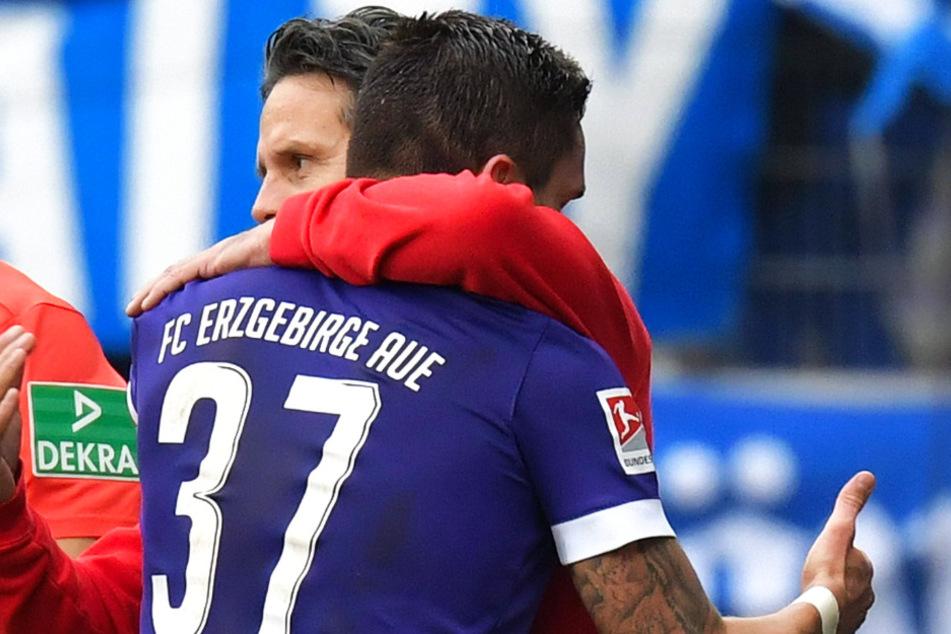 FCE-Coach Dirk Schuster wird heute Ex-Dynamo Pascal Testroet an vorderste Front schicken.