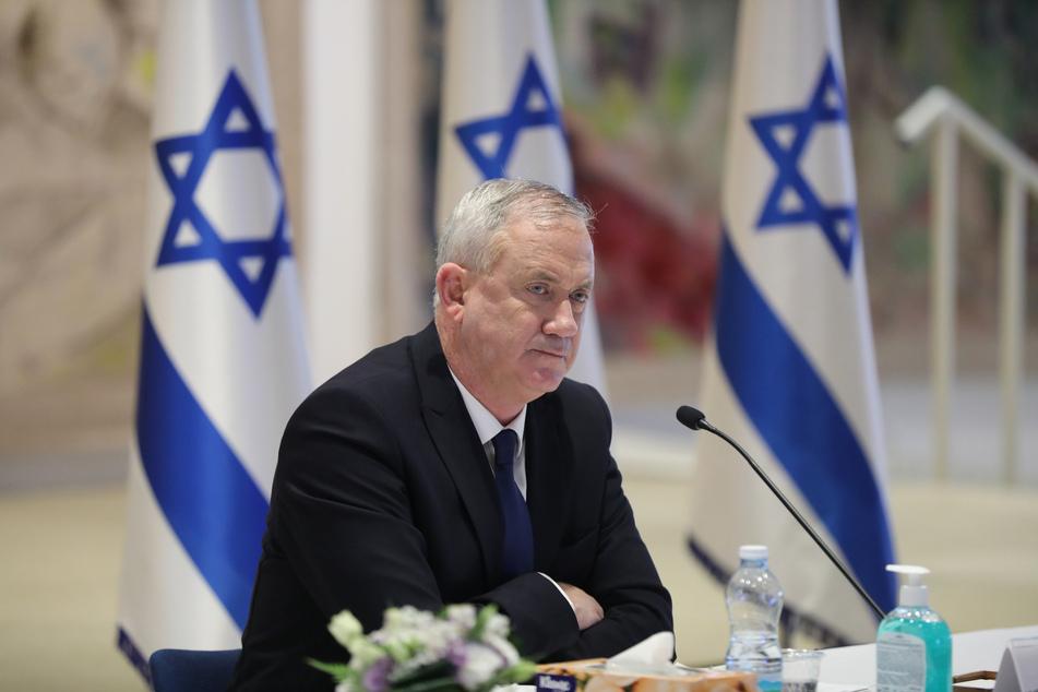 Benny Gantz, Verteidigungsminister von Israel.