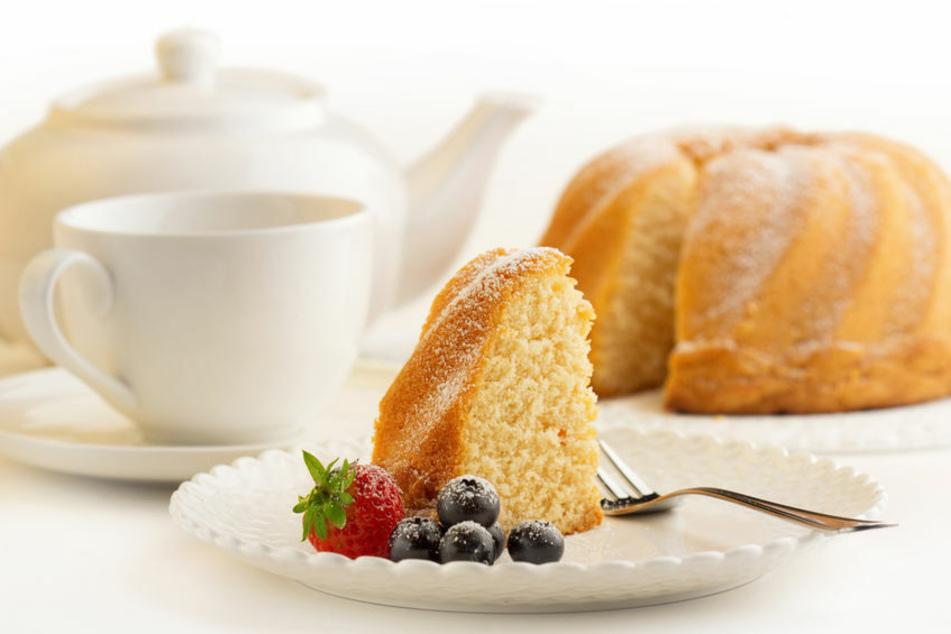 Für den Briten wird schon das kleinste Stück Kuchen zur Gefahr.