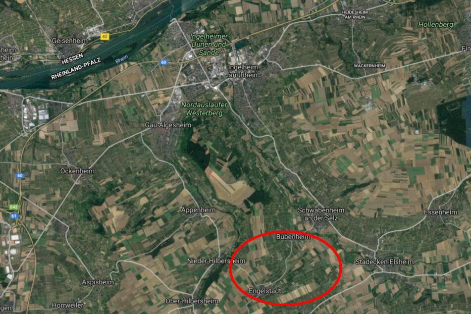 Wie die Polizei mitteilte, passierte der Unfall gegen 14.15 Uhr auf der K16 zwischen Engelstadt und Bubenheim.