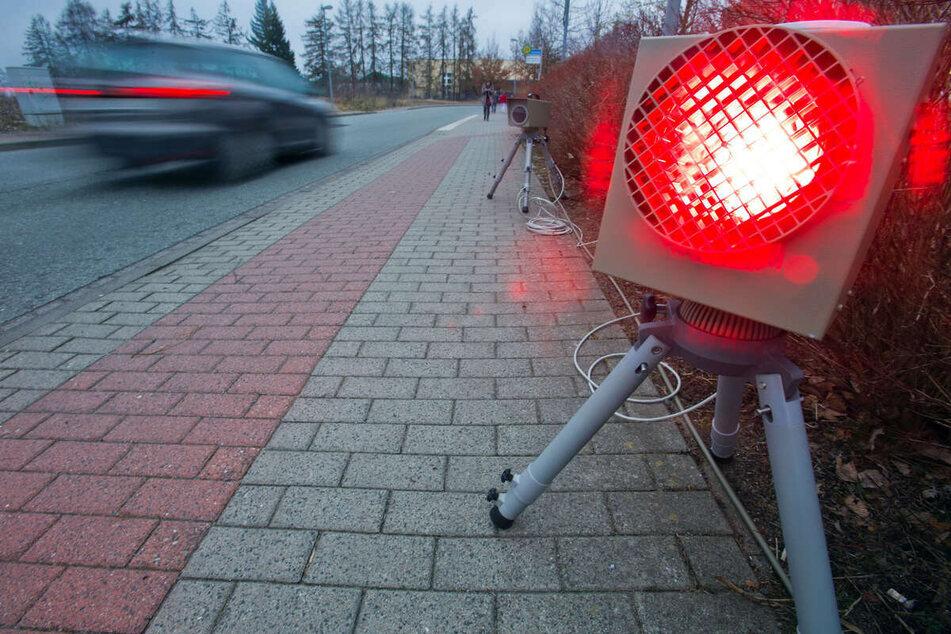 Hier wird in Chemnitz geblitzt. (Symbolbild)