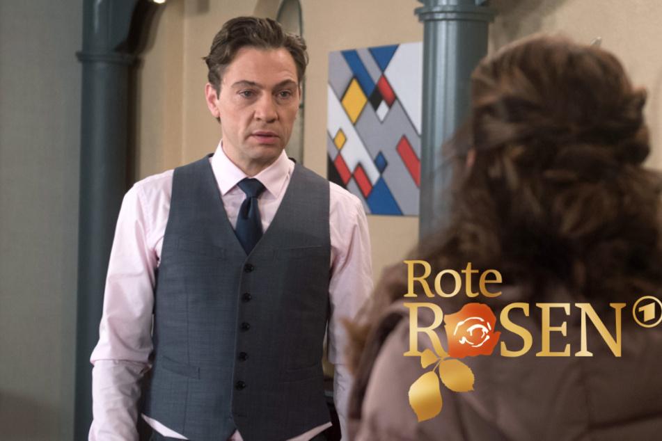 """""""Rote Rosen"""": Paul offenbart Tatjana seine ehrlichen Gefühle."""