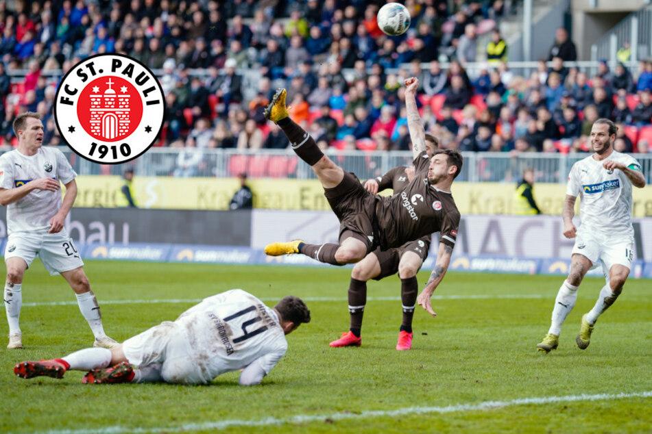 Sieg verpasst: FC St. Pauli erkämpft Punkt in Sandhausen