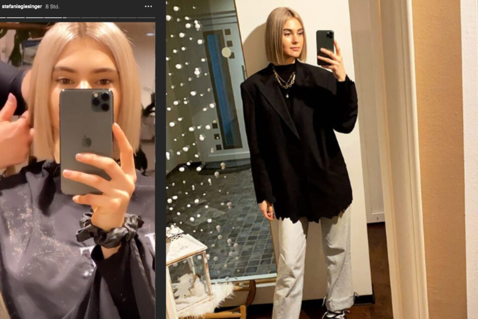Kürzer und viel blonder: So verändert zeigt sich Stefanie Giesinger nach ihrem letzten Friseurbesuch auf Instagram.