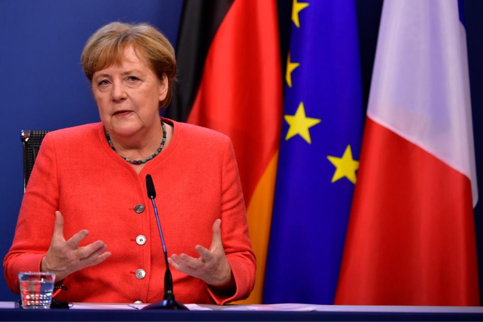 Reichsbürger in Hamburg lehnen Angela Merkel (CDU, 66) als Bundeskanzlerin ab.