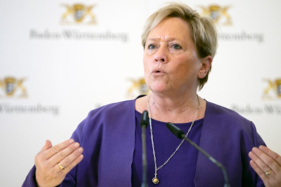 Baden-Württembergs Sportministerin Susanne Eisenmann (55, CDU).