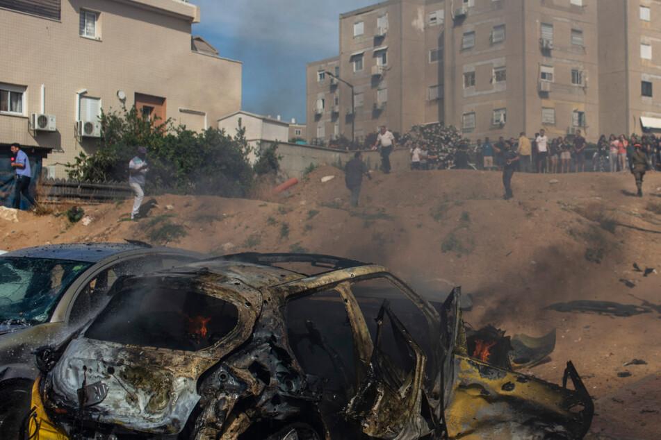 Hamas-Terror gegen Israel: Neue Raketenangriffe aus dem Gazastreifen