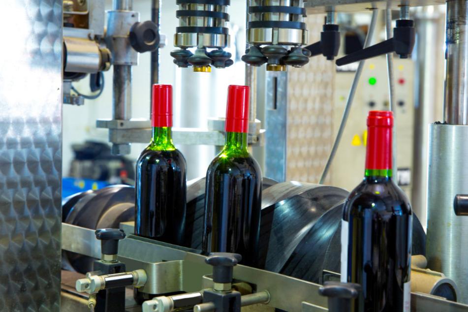 Die örtliche Weinkellerei hatte eine Panne beim Abfüllen. (Symbolbild)