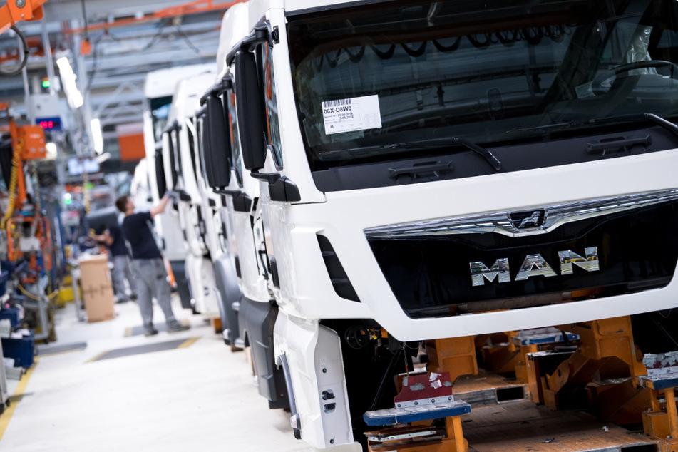 Der Lastwagenbauer MAN gehört zur VW-Lkw-Tochter Traton.
