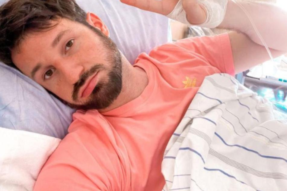 """Sorge um """"Prince Charming"""" Alex Schäfer: """"Mein Körper hat die Notbremse gezogen"""""""
