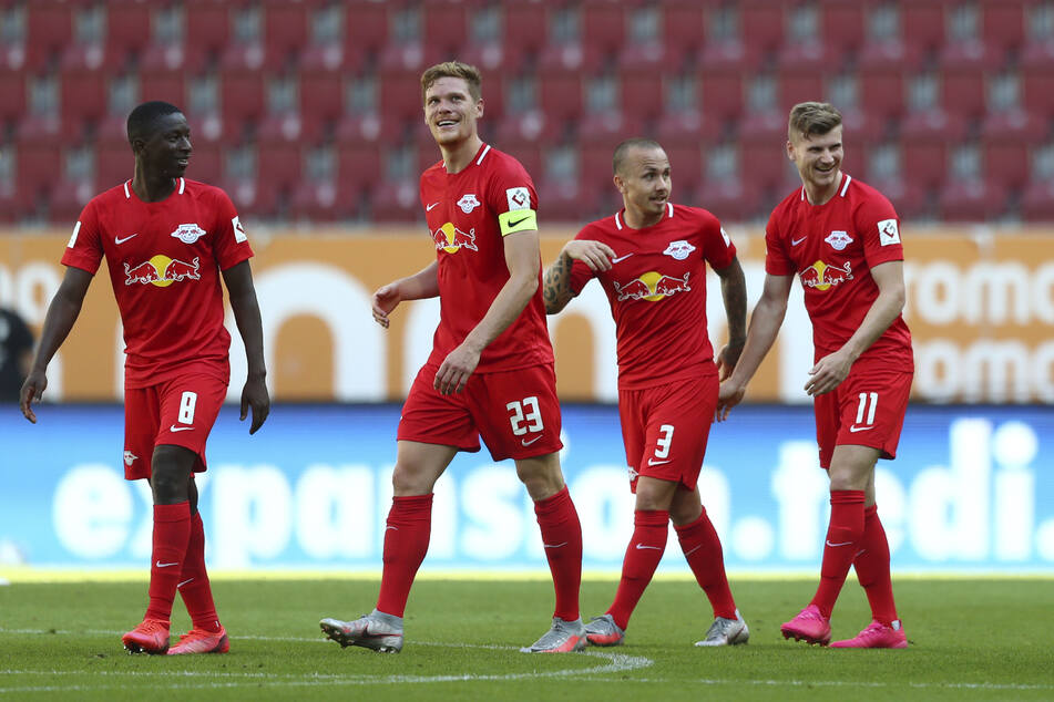 Die Tore 94 und 95 machten Timo Werner (r.) zum Leipziger Rekordtorschützen.