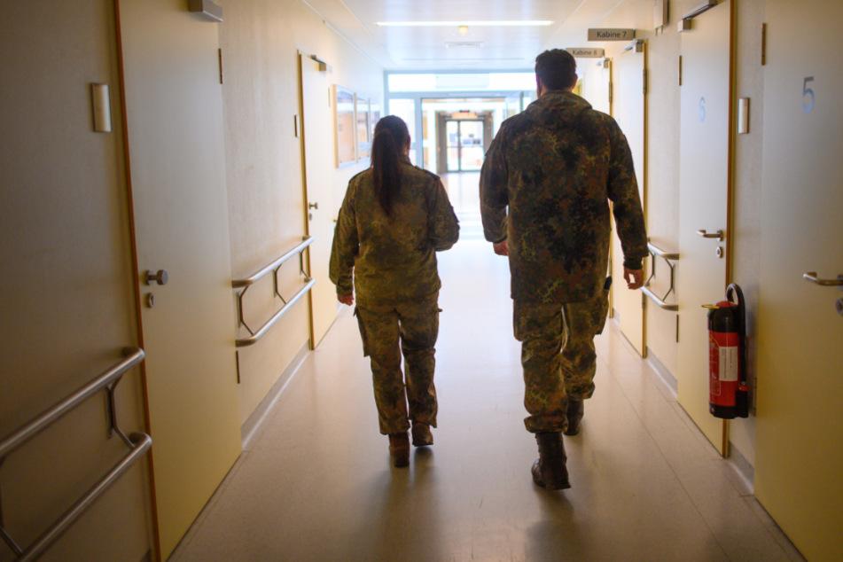 Die Bundeswehr ist bereit für den Einsatz in den Impfzentren.