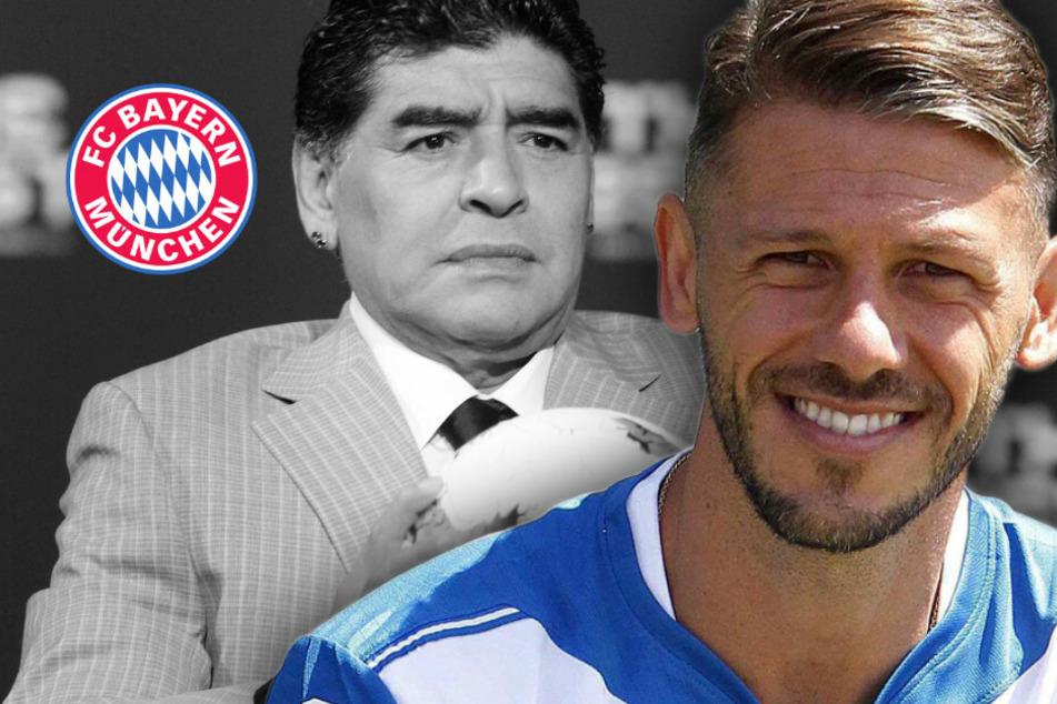 """Ex-Bayern-Profi Martin Demichelis trauert um Diego Maradona: """"Meine Seele schmerzt"""""""