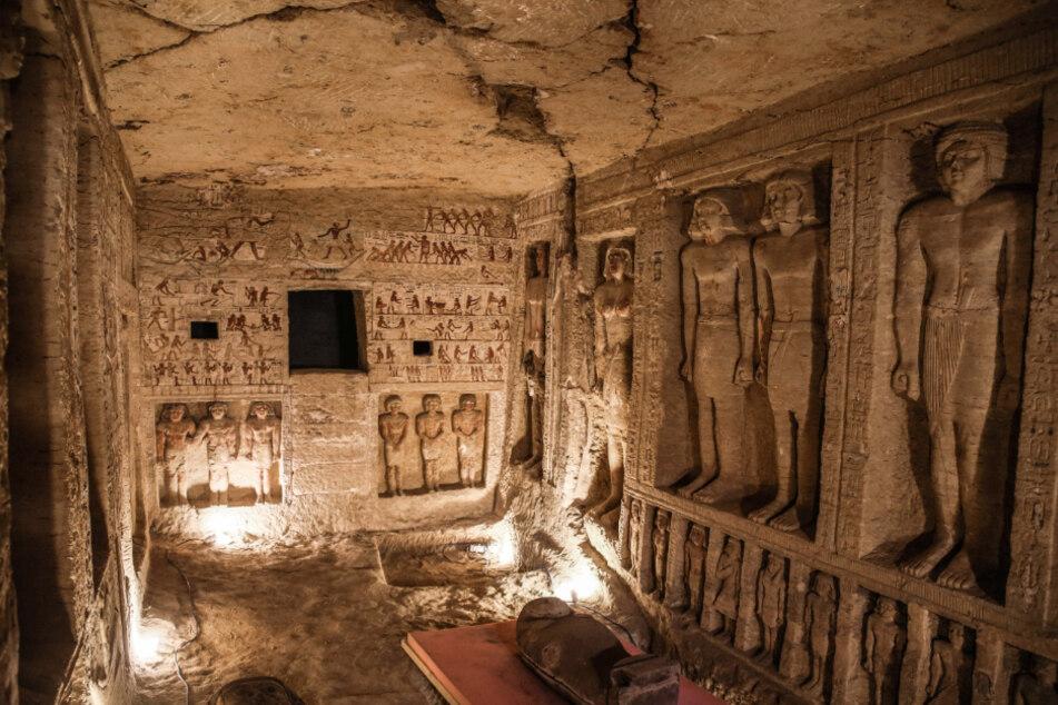 Forscher machen spektakuläre Entdeckung in bekannter Totenstadt