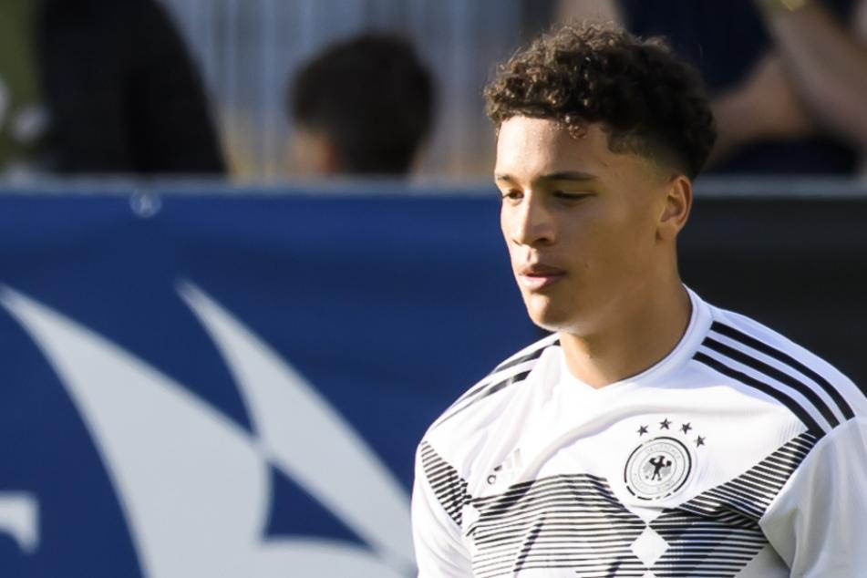 Jonas David (20) erhält einen Vertrag beim HSV bis 2024. (Archivbild)