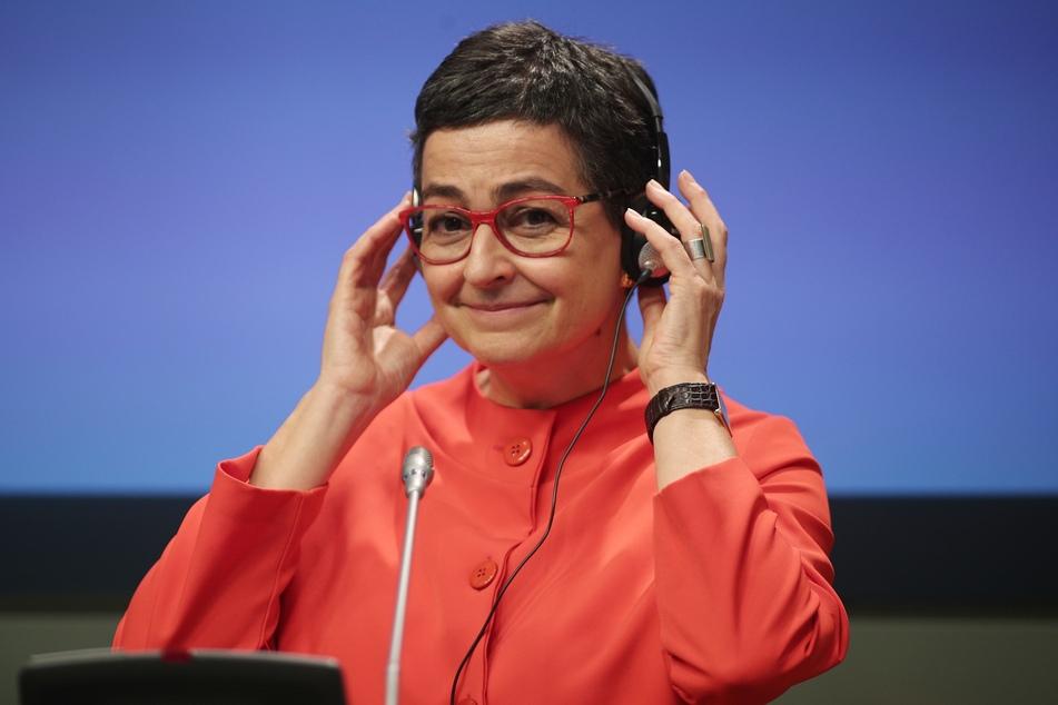 Arancha Gonzalez Laya, die Außenministerin von Spanien. (Archivbild)