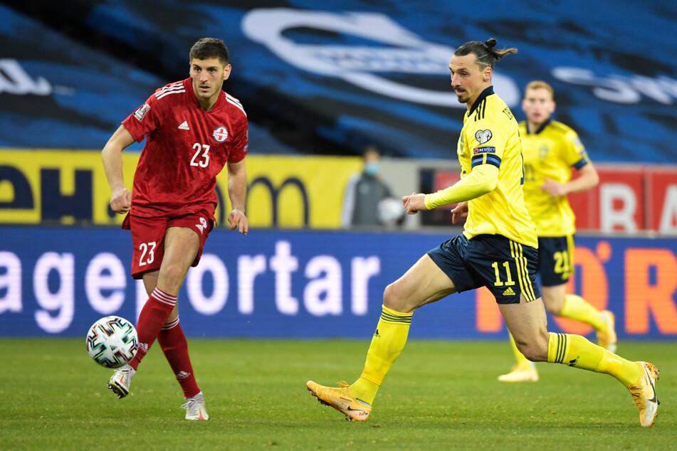 Zlatan Ibrahimovic (39, M.) hatte erst im März sein Comeback für Schweden gegeben. Nun verpasst er die EM wegen einer Knieverletzung.