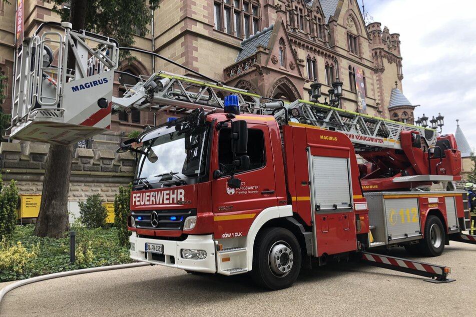 """Brand bei """"Bares für Rares""""-Dreharbeiten auf Schloss Drachenburg!"""