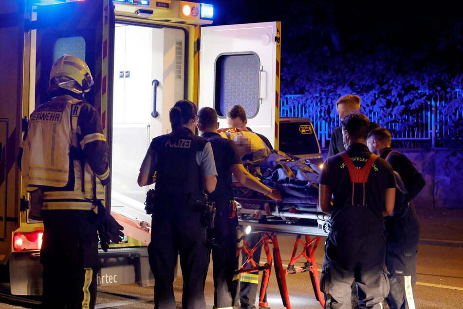 Neben der Feuerwehr und dem Rettungsdienst war auch die Polizei im Einsatz.