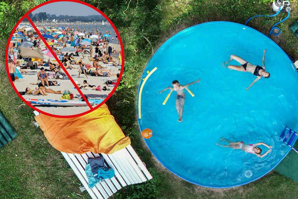 Weil Verreisen kaum möglich ist: Pool-Boom in Sachsen!