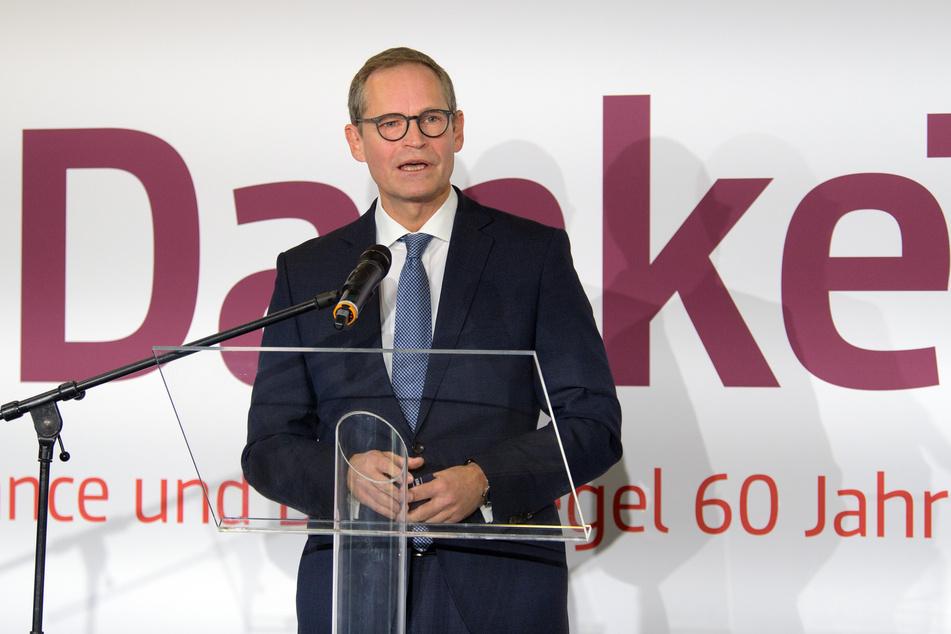 Michael Müller (55, SPD) spricht von einem historischen Tag voller Emotionen.