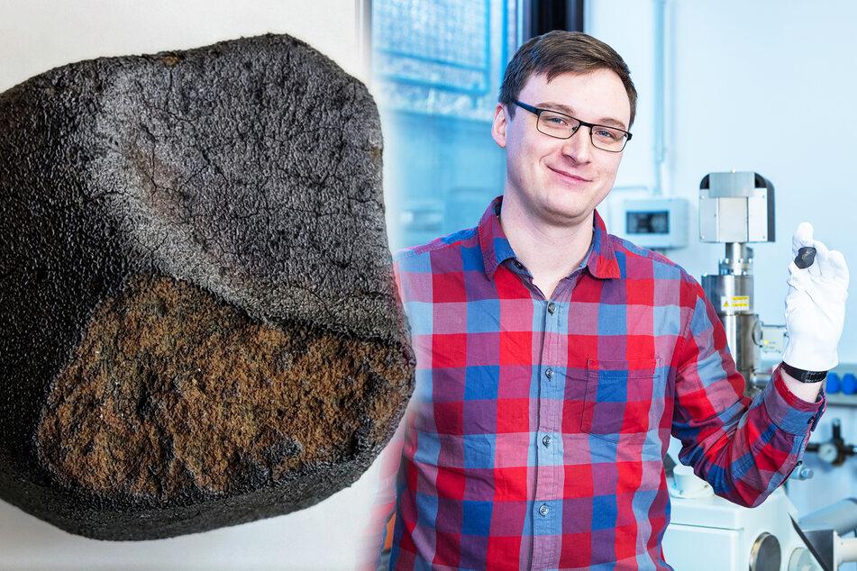 Im Labor des Felsenkellers: Wissenschaftler erforschen die Geschichte dieses Meteoriten