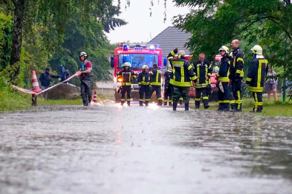 Hunderte Unwetter-Einsätze für Brandenburger Feuerwehr