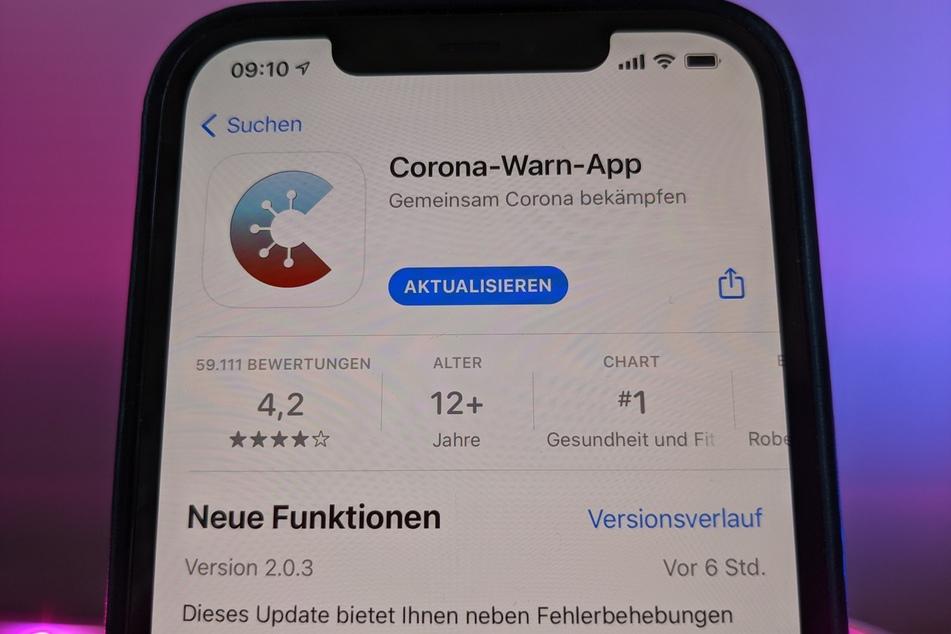 Die 2.0-Version der Corona-App steht ab sofort zum Download bereit.